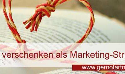 Wissen verschenken als Marketing-Strategie