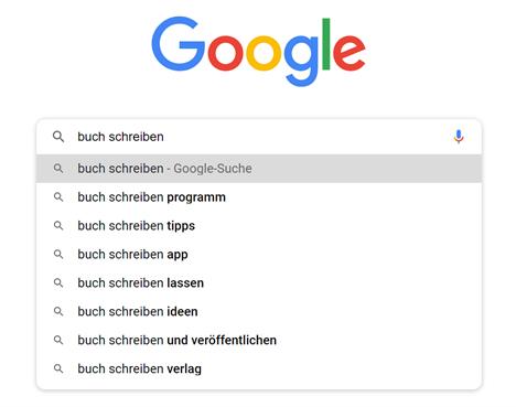 effektiv schreiben google suche
